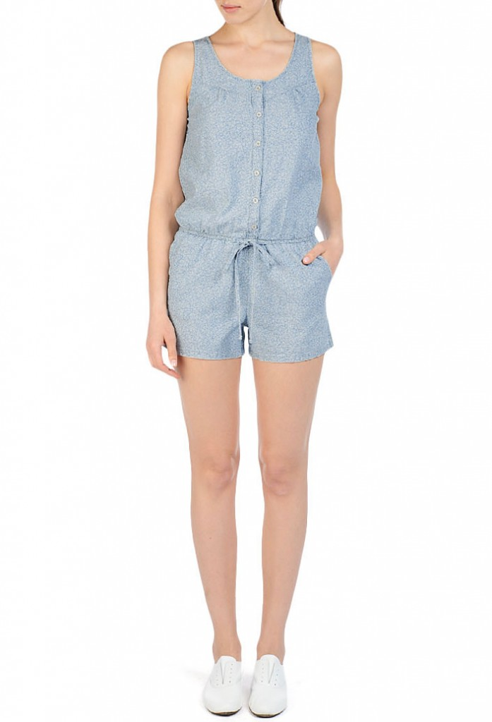 AG the Emma Chambray romper