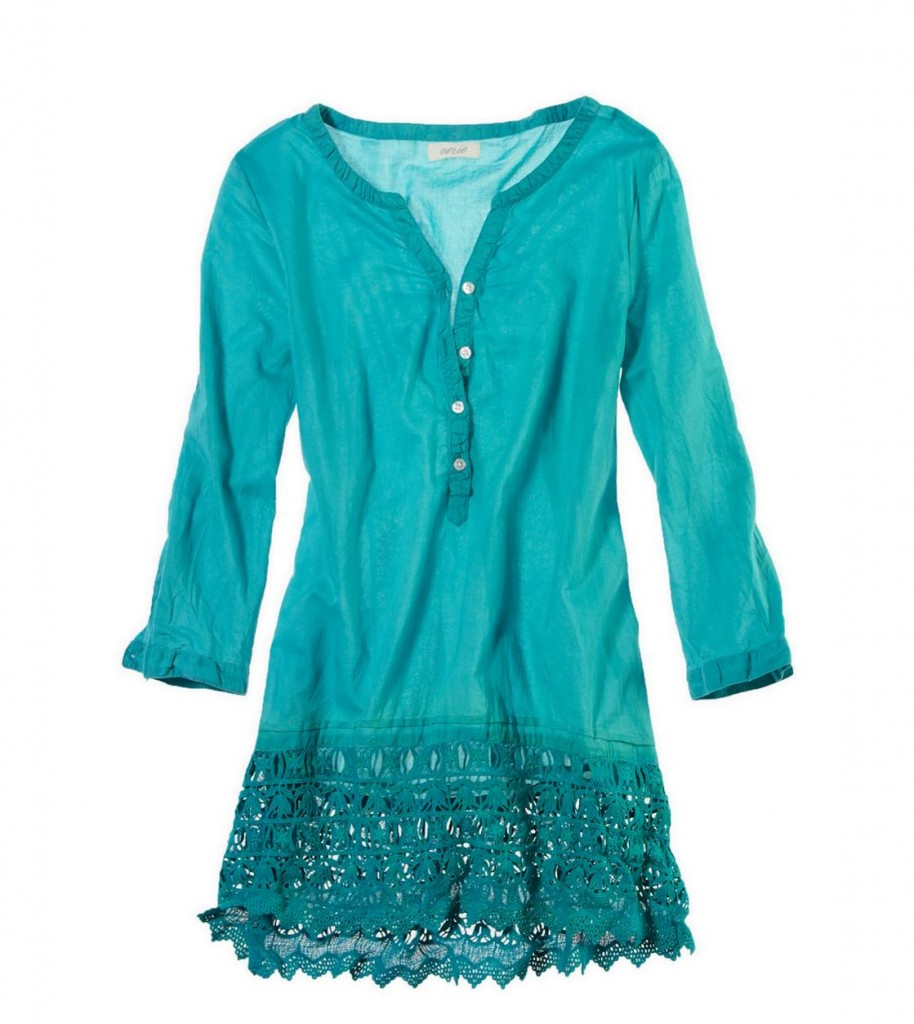 aerie crochet cover up
