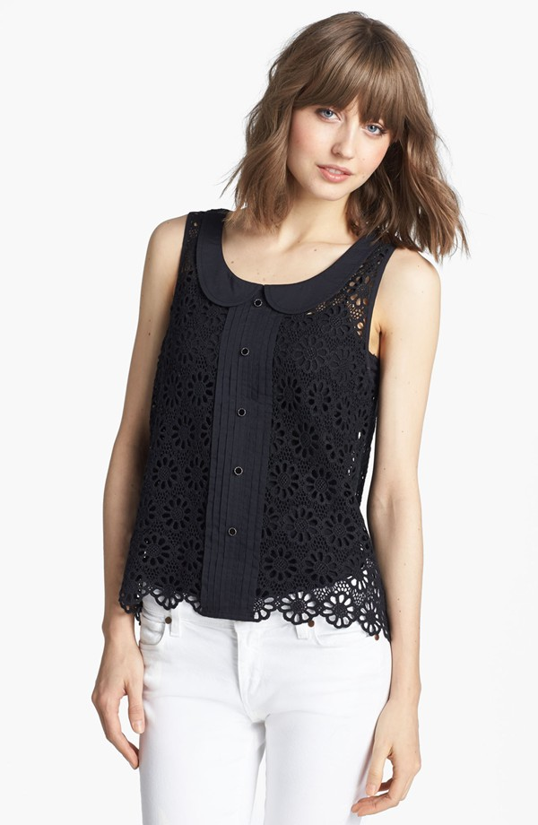 hinge crochet top