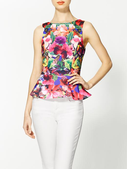 piperlime floral peplum