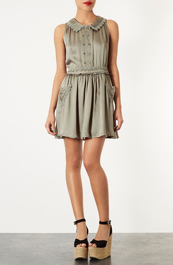 topshop crochet heart dress nordstrom