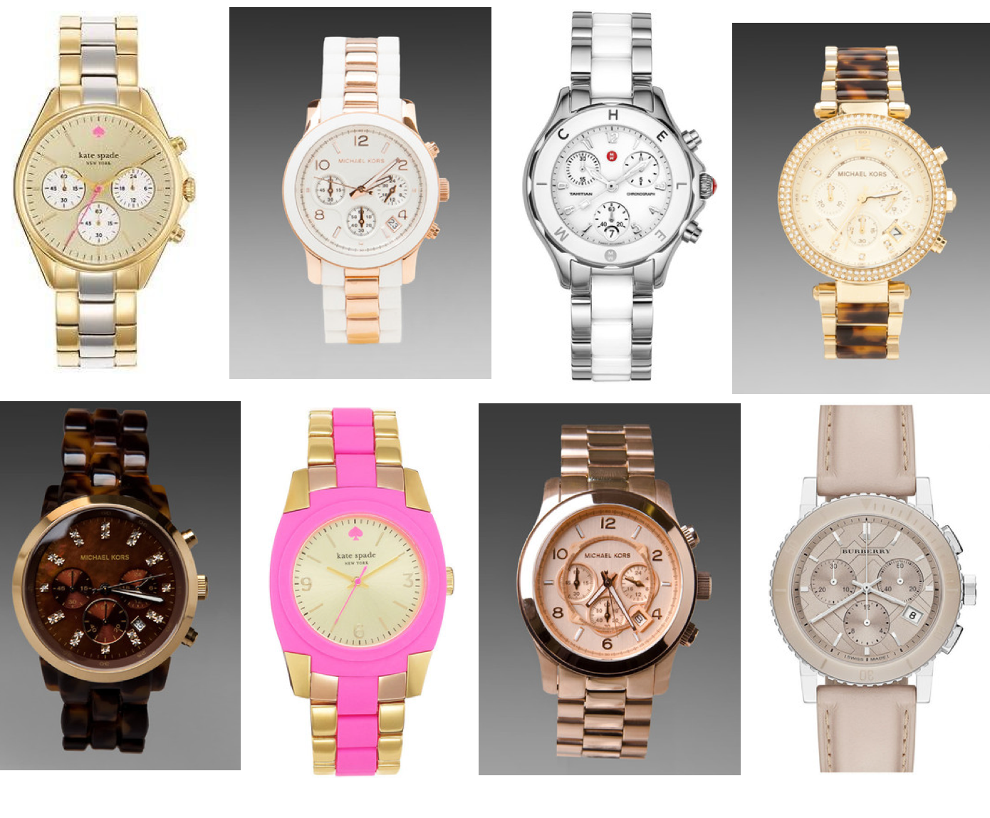 New Accessories: Watches and Scarves