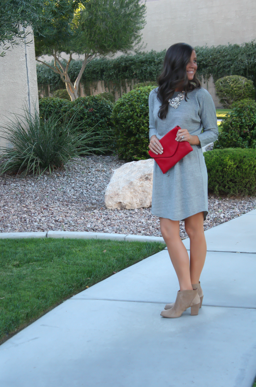 Style + Comfort : Fleece Dress