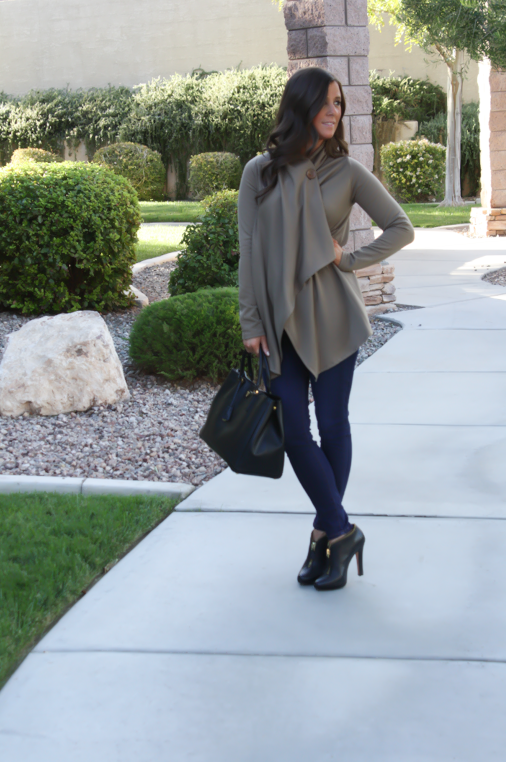 Fleece Wrap Cardi + Shopbop