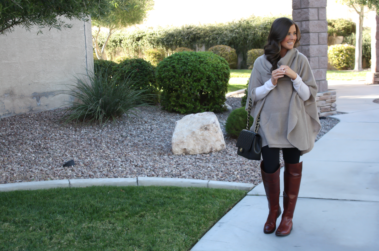 Cashmere and OTK Boots + Celine