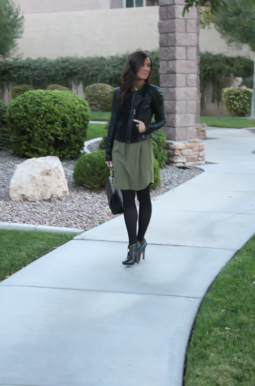 Army Green and Black + J.Crew New Arrivals