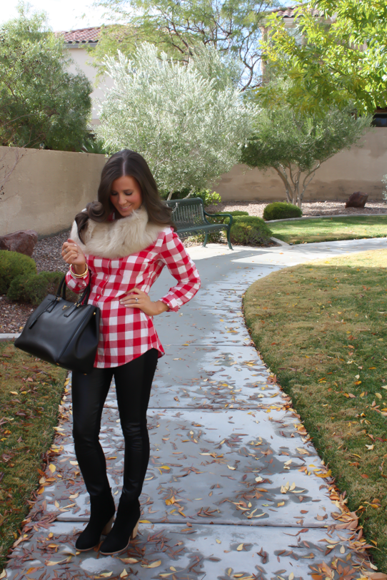 Plaid, Leather and Fur