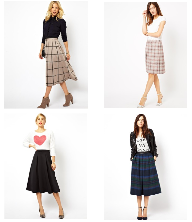 A Few Favorites + A Midi Skirt