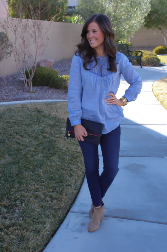 Shades of Blue + Boden Spring