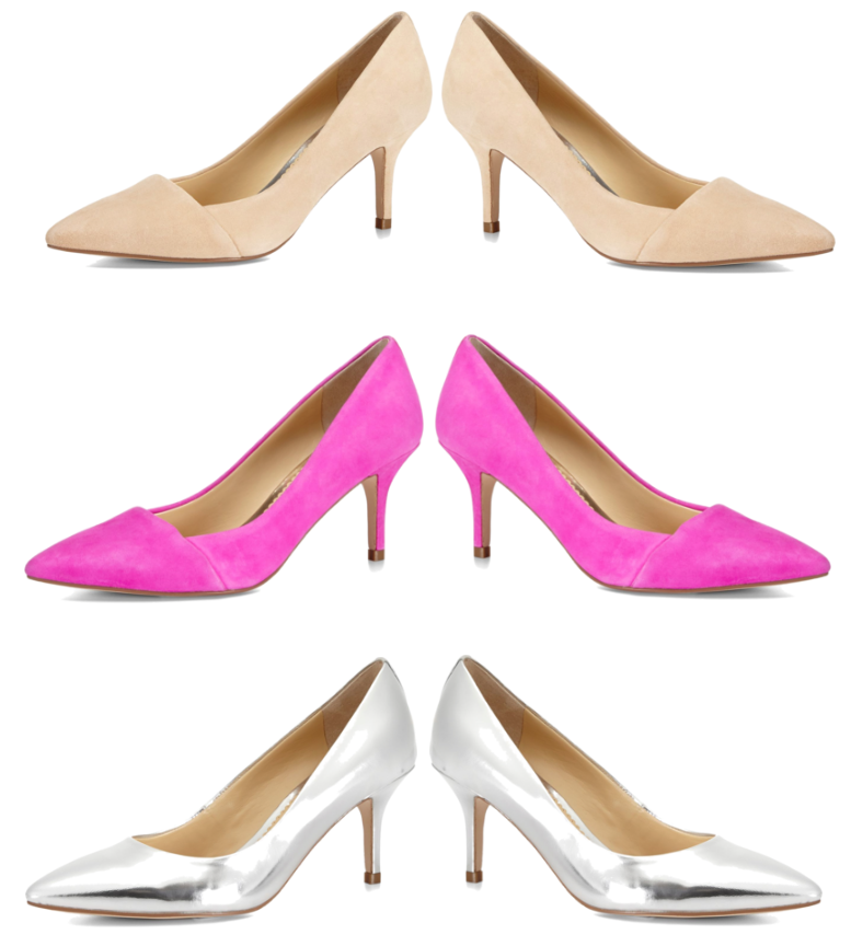 Color Pops   Suede Heels