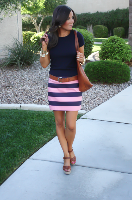 Pink, Navy + Cozy Favorites