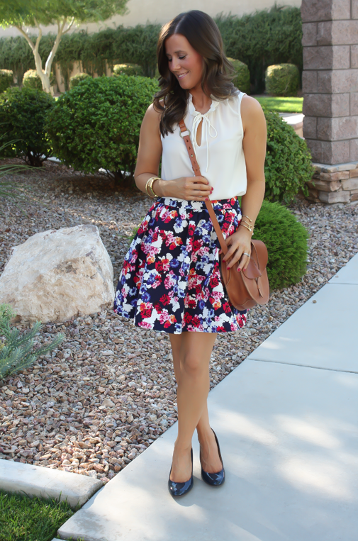 A Floral Skirt + Currently Coveting