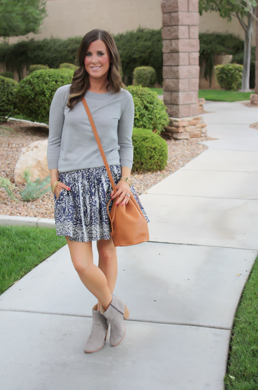 An Embellished Skirt + A Fall Favorite