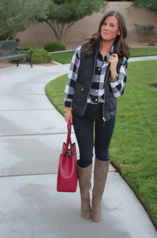 Friday Favorites Quilted Plaid