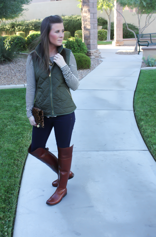 Fall Favorite : Over the Knee Boots + New Red Kicks