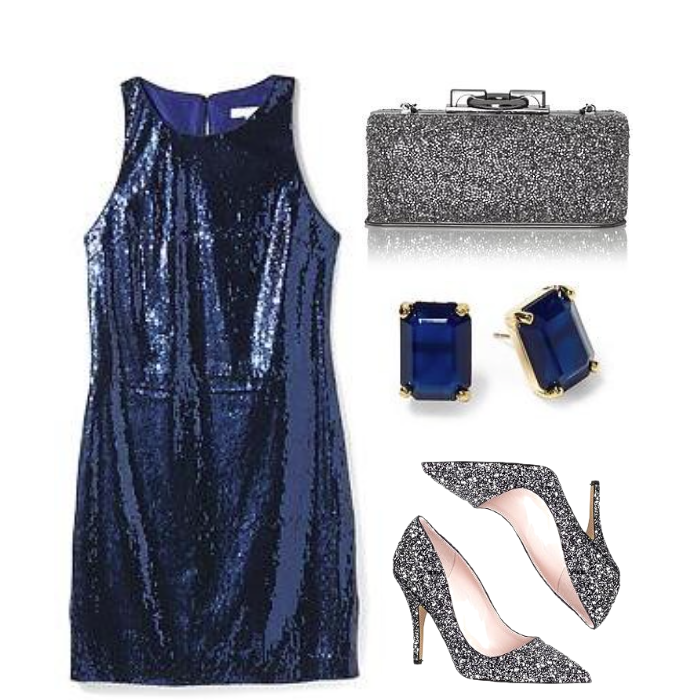 Piperlime Sequin Dress