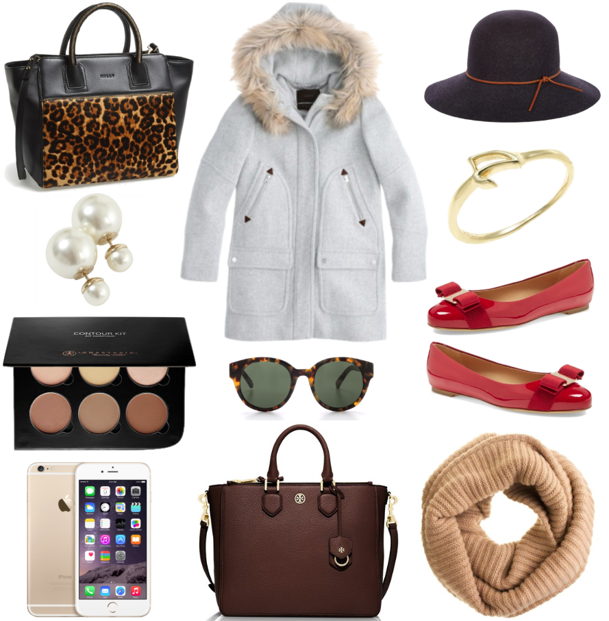 Burberry + A Christmas List