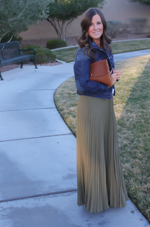 A Pleated Maxi + Insta Update