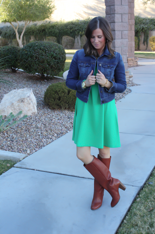 A Little Green Dress + (Big!) Current Favorites