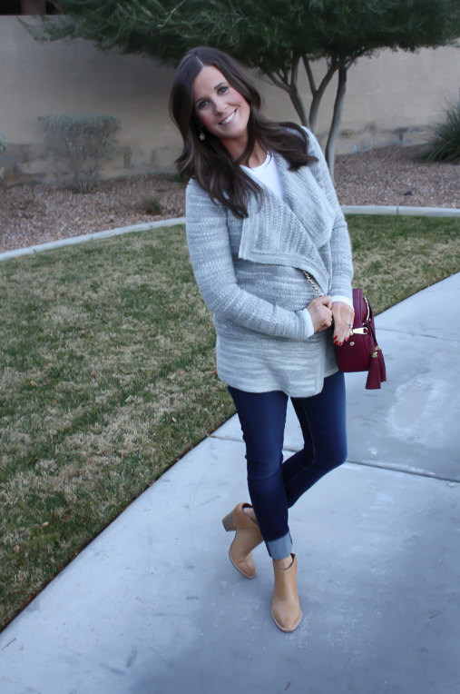 A Grey Cardigan + Some Current Favorites