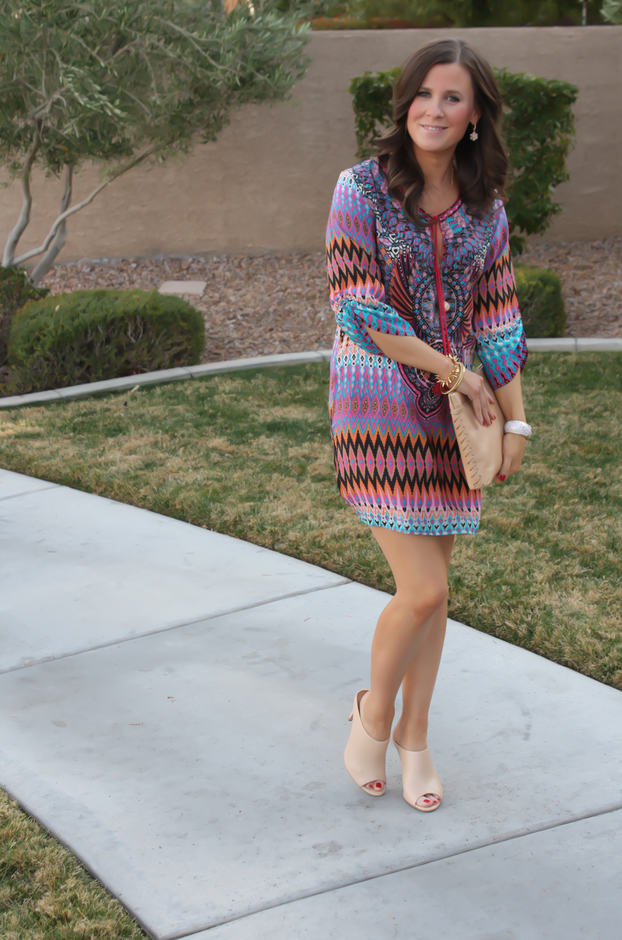 A Printed Shift + Outfit Inspo and Favorites