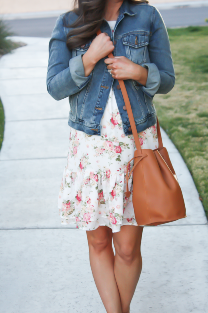 Floral Bucket Bag Bucket Bag Try This This
