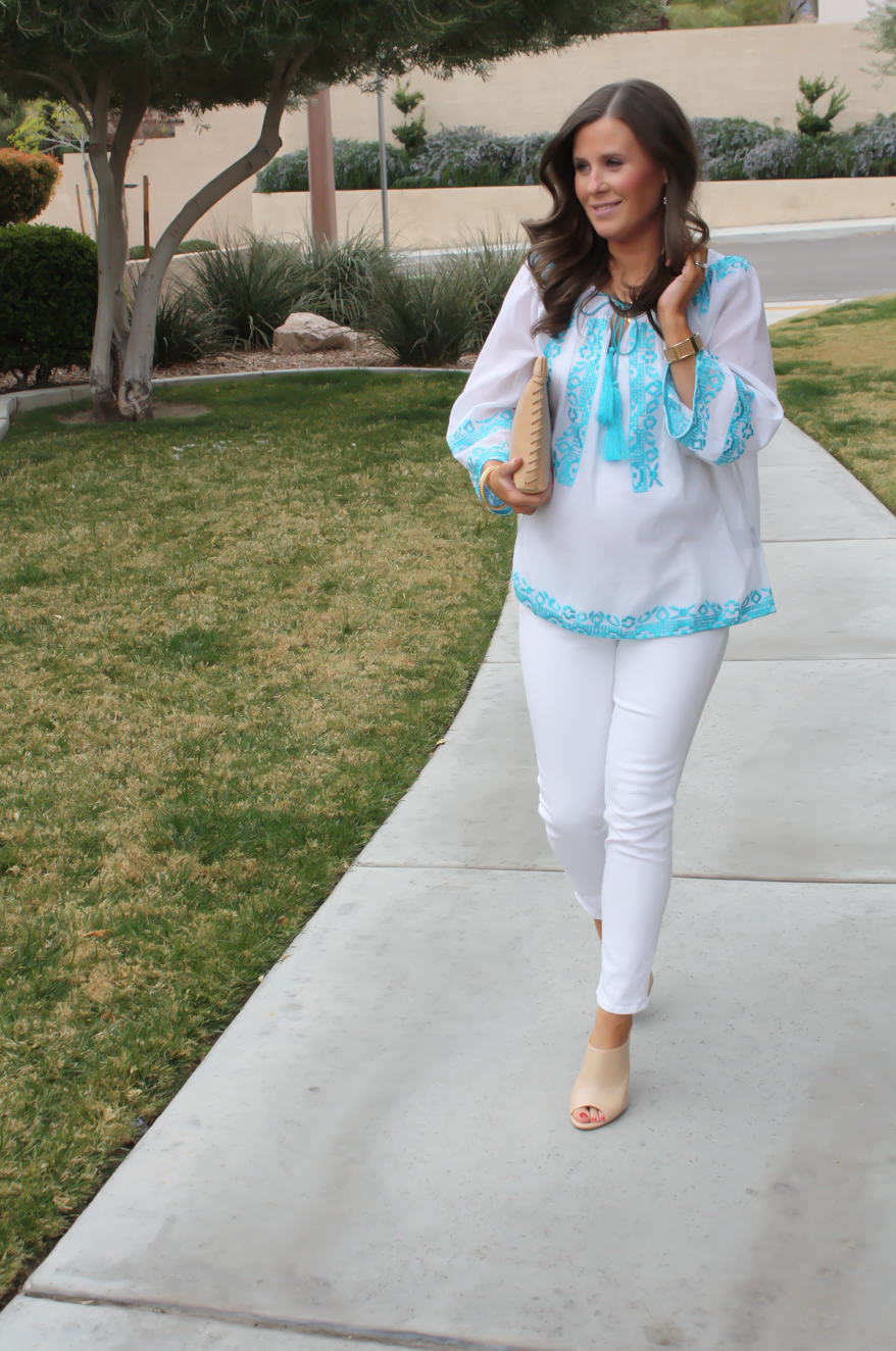 Embroidered Blouse + Spring Style