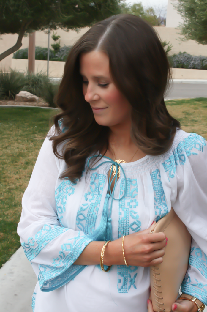 Embroidered Blouse Spring Style