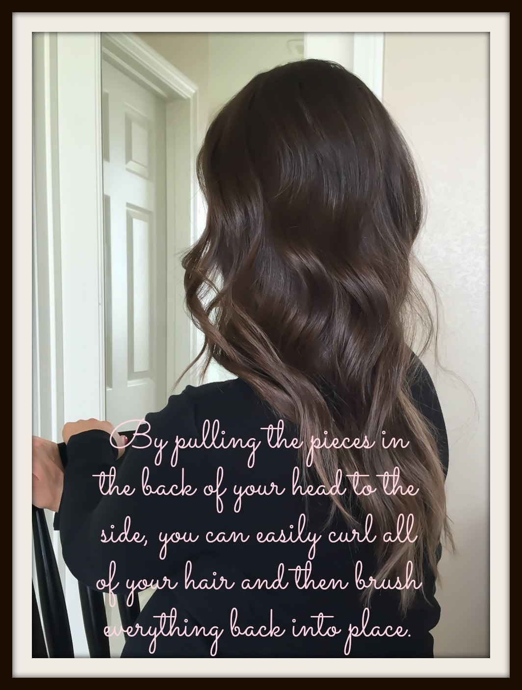 Hair Tutorial : NuMe Curling Wand for Loose Beach Waves