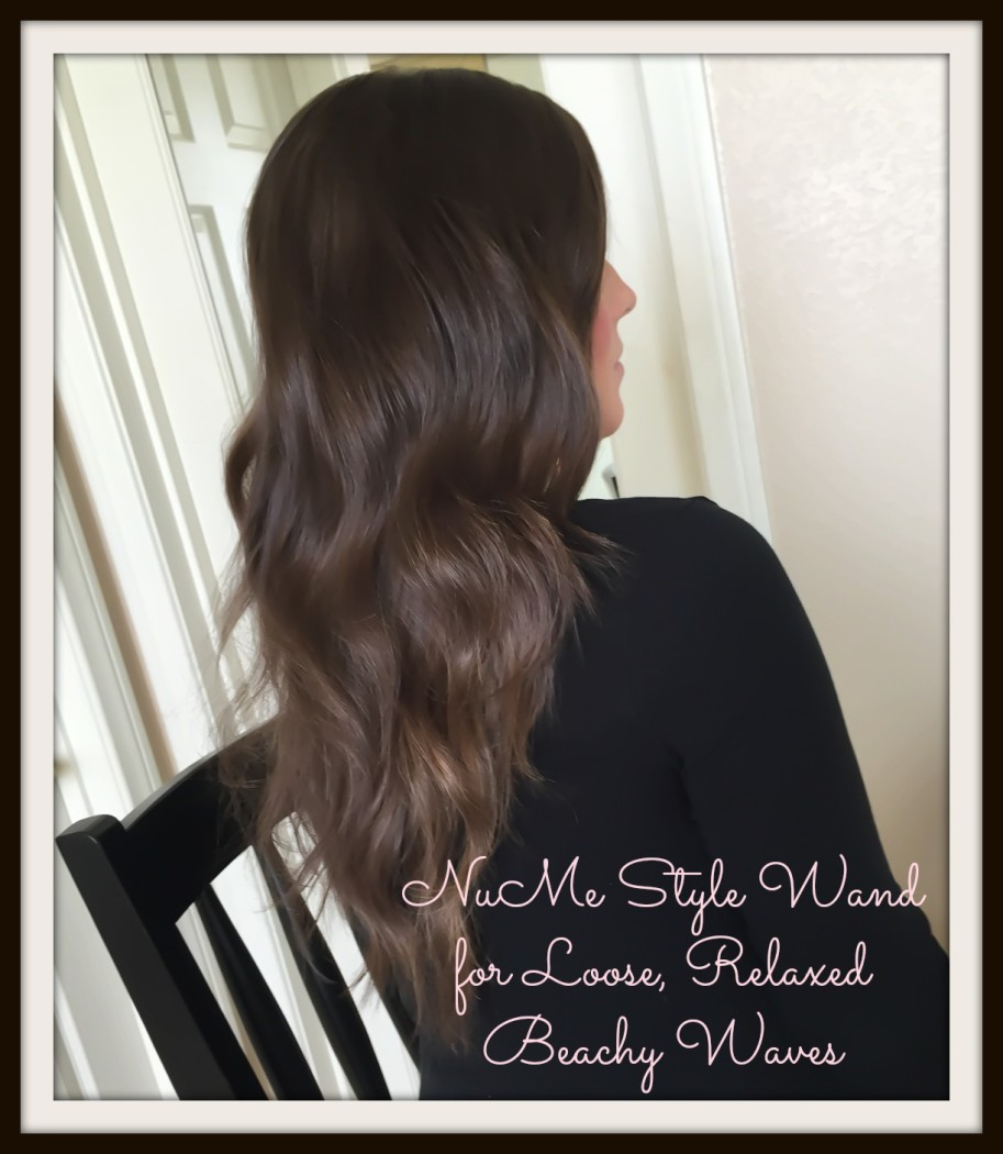 NuMe Style Wand Loose Relaxed Beach Waves