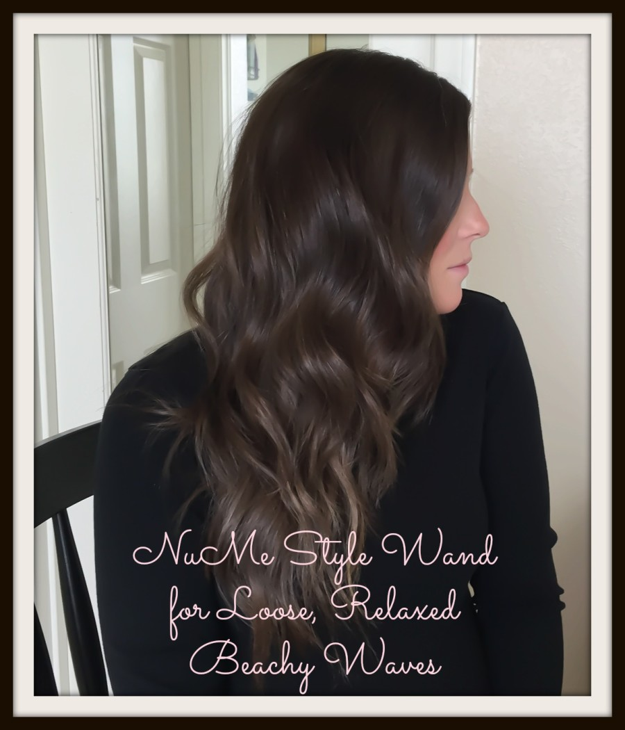 NuMe Style Wand for Loose Relaxed Beach Waves