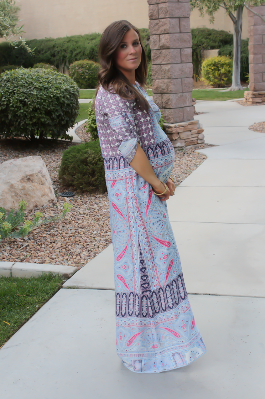 Printed Caftan + Spring and Summer Inspo