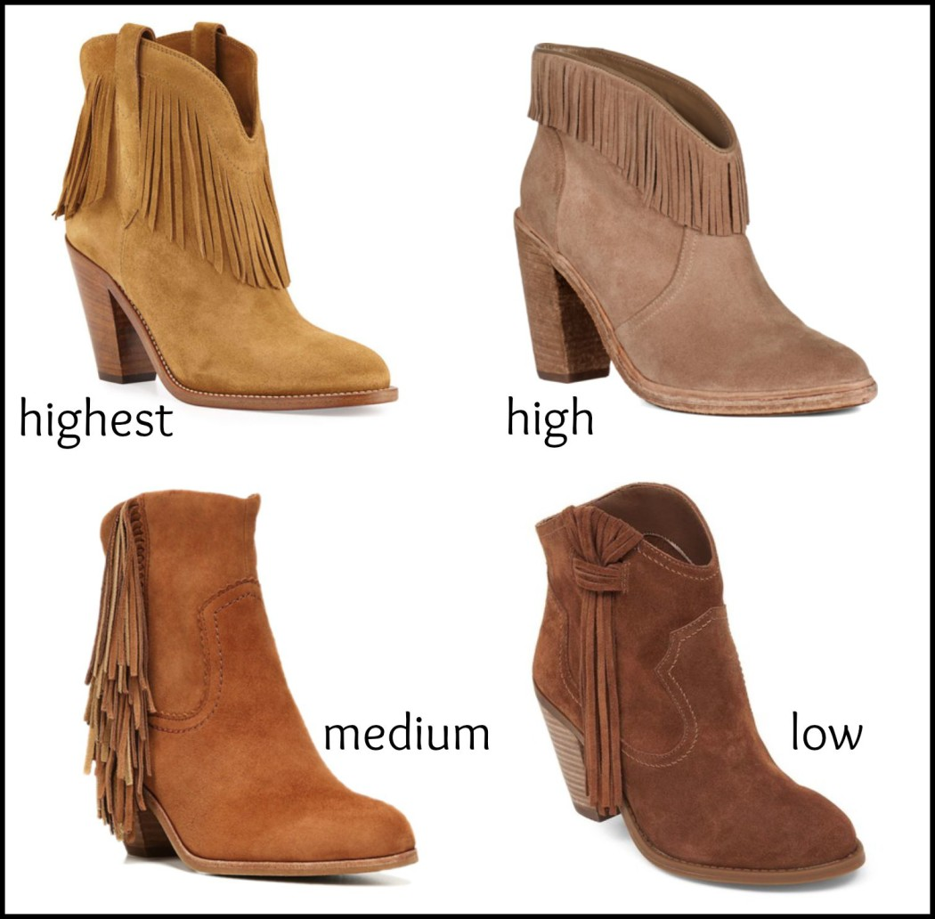Fringe Booties   This and That…
