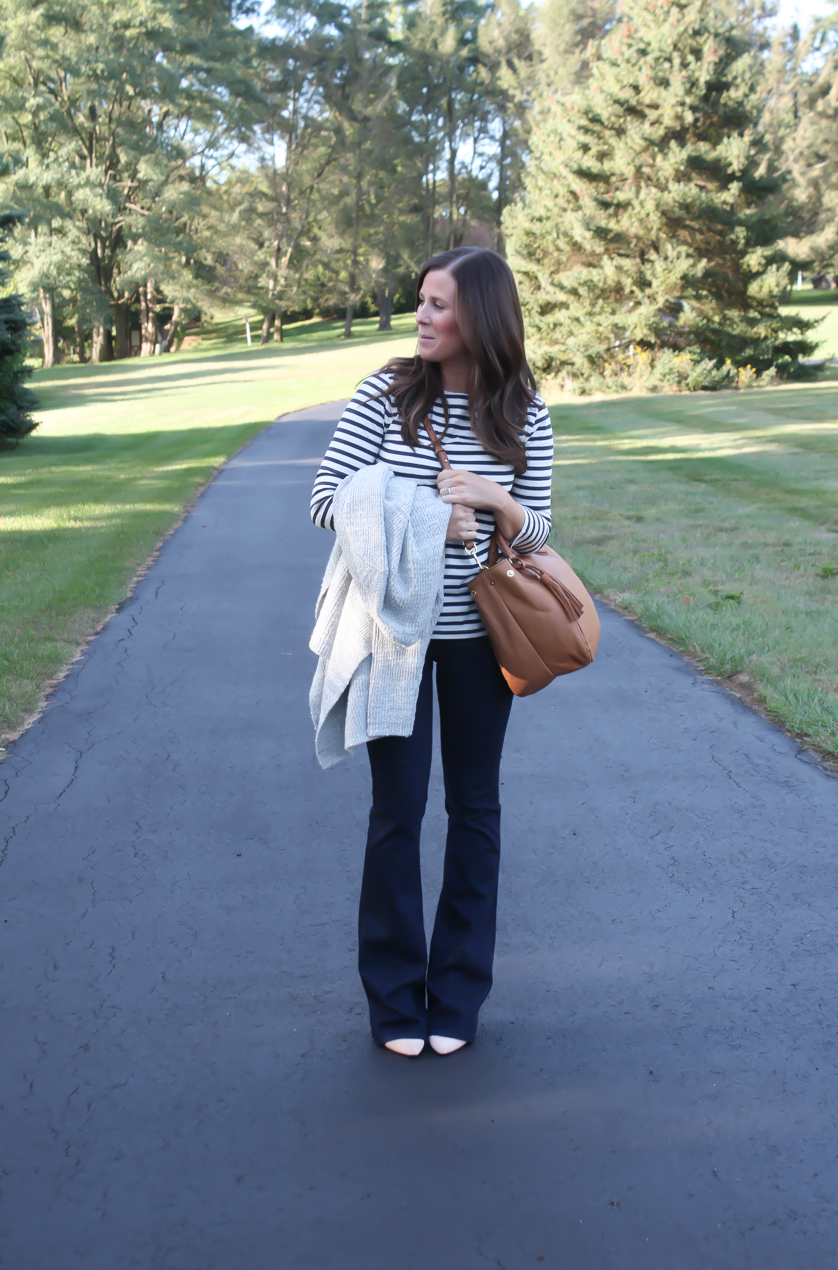 Flare Jeans + Fall Favorites
