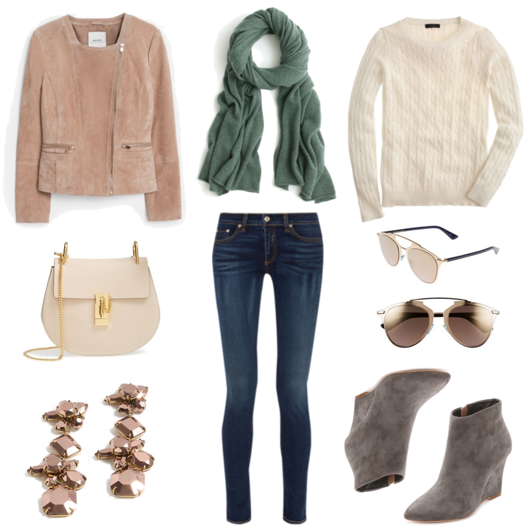 Suede and Cashmere for Fall
