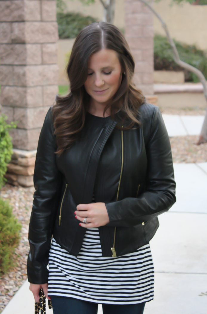 A Little Black Leather Jacket