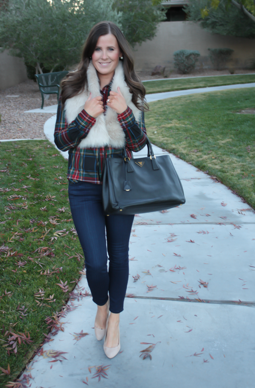 Plaid and (Faux) Fur