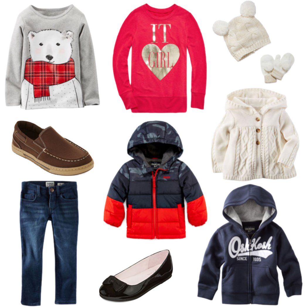 JCPenney Gift Guide - Kids Apparel