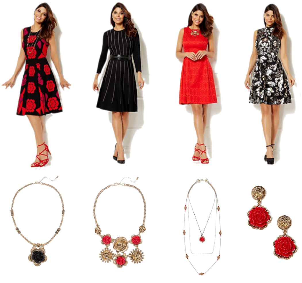NY & Co Eva Mendes Holiday Collection