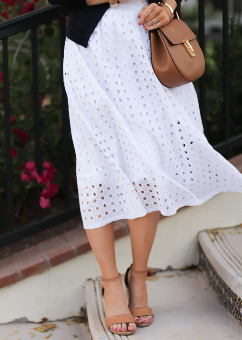 White Eyelet + J.Crew New Arrivals