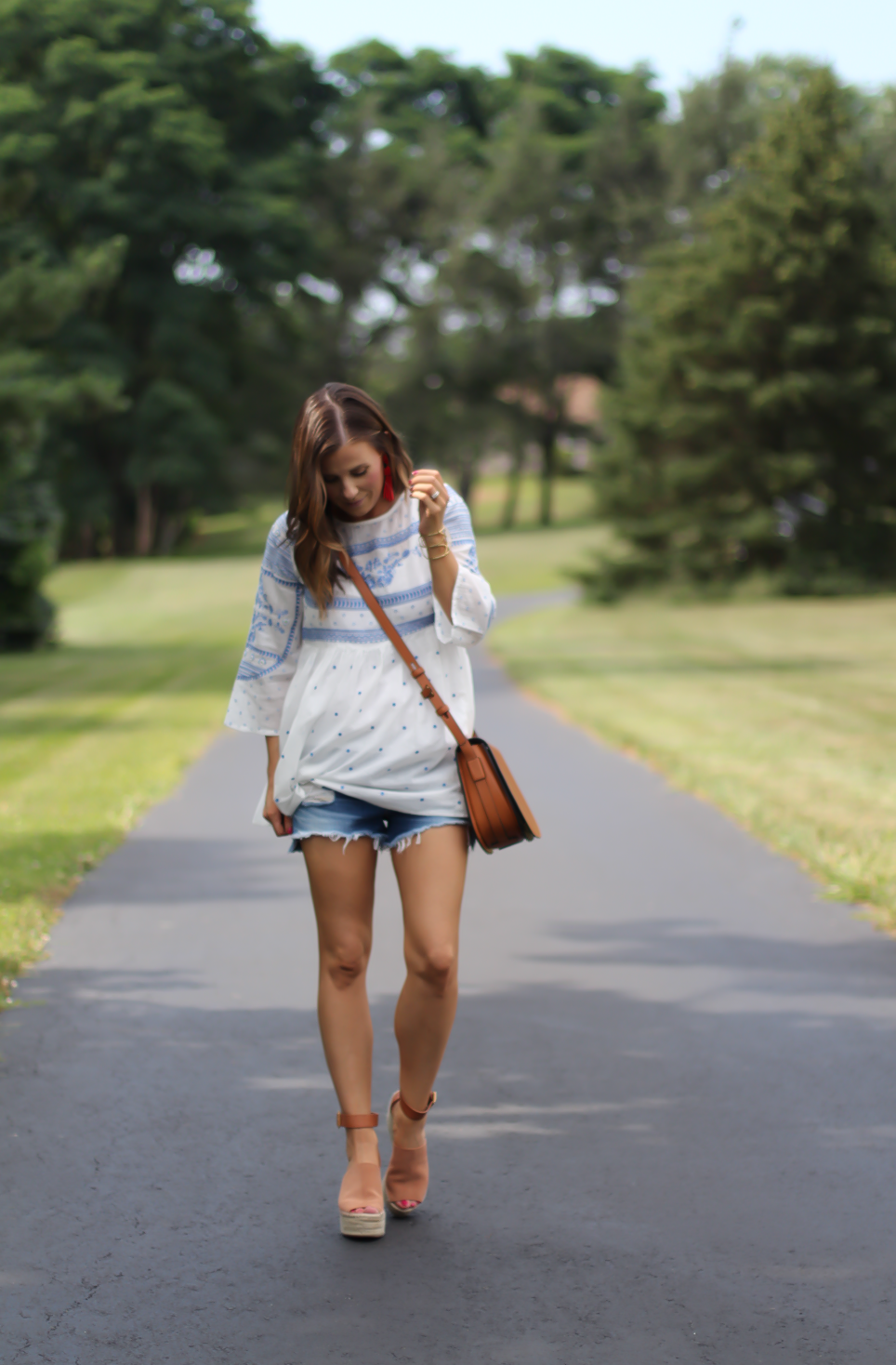 Embroidered Tunic + Summer Vacation!