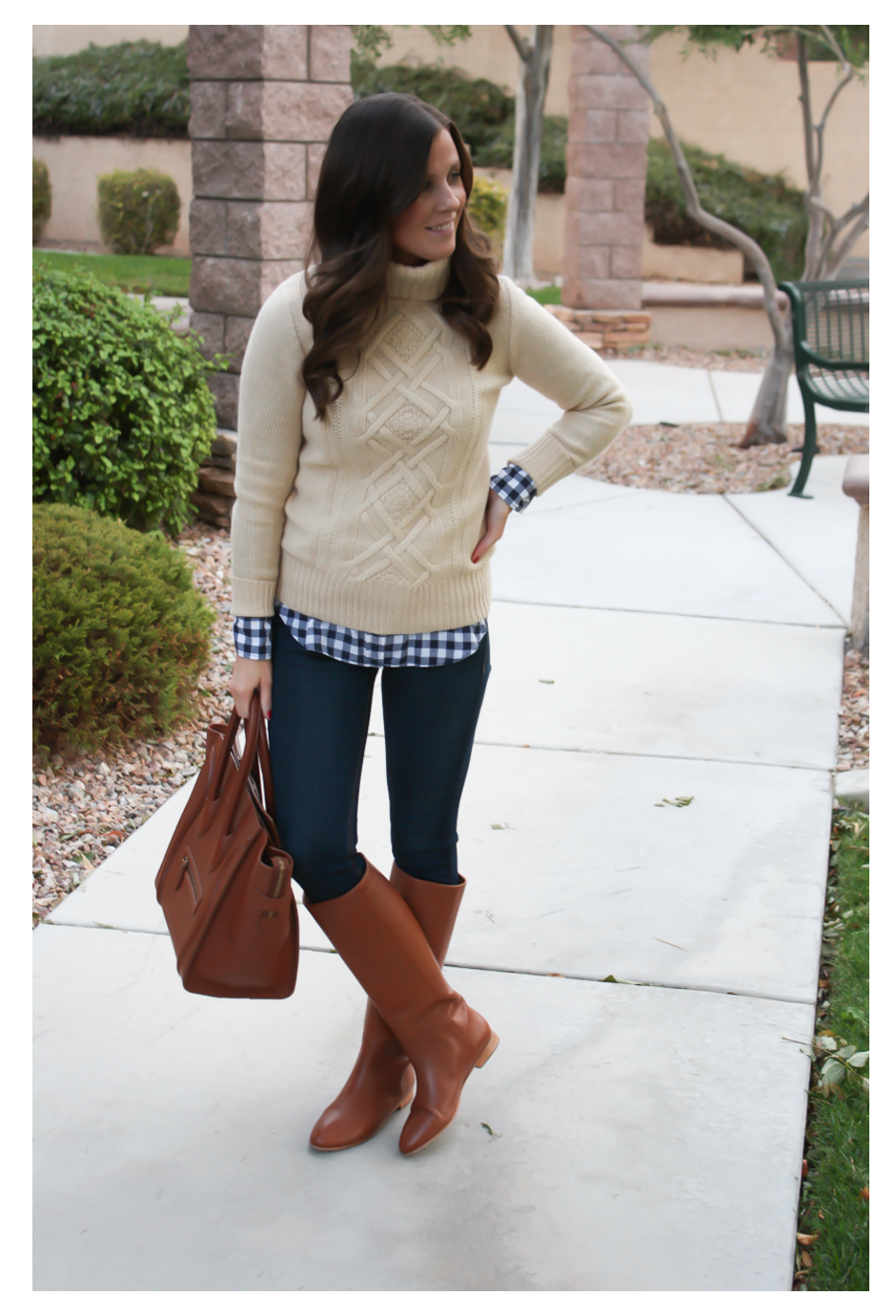 Navy Pleats + Fall Favorites