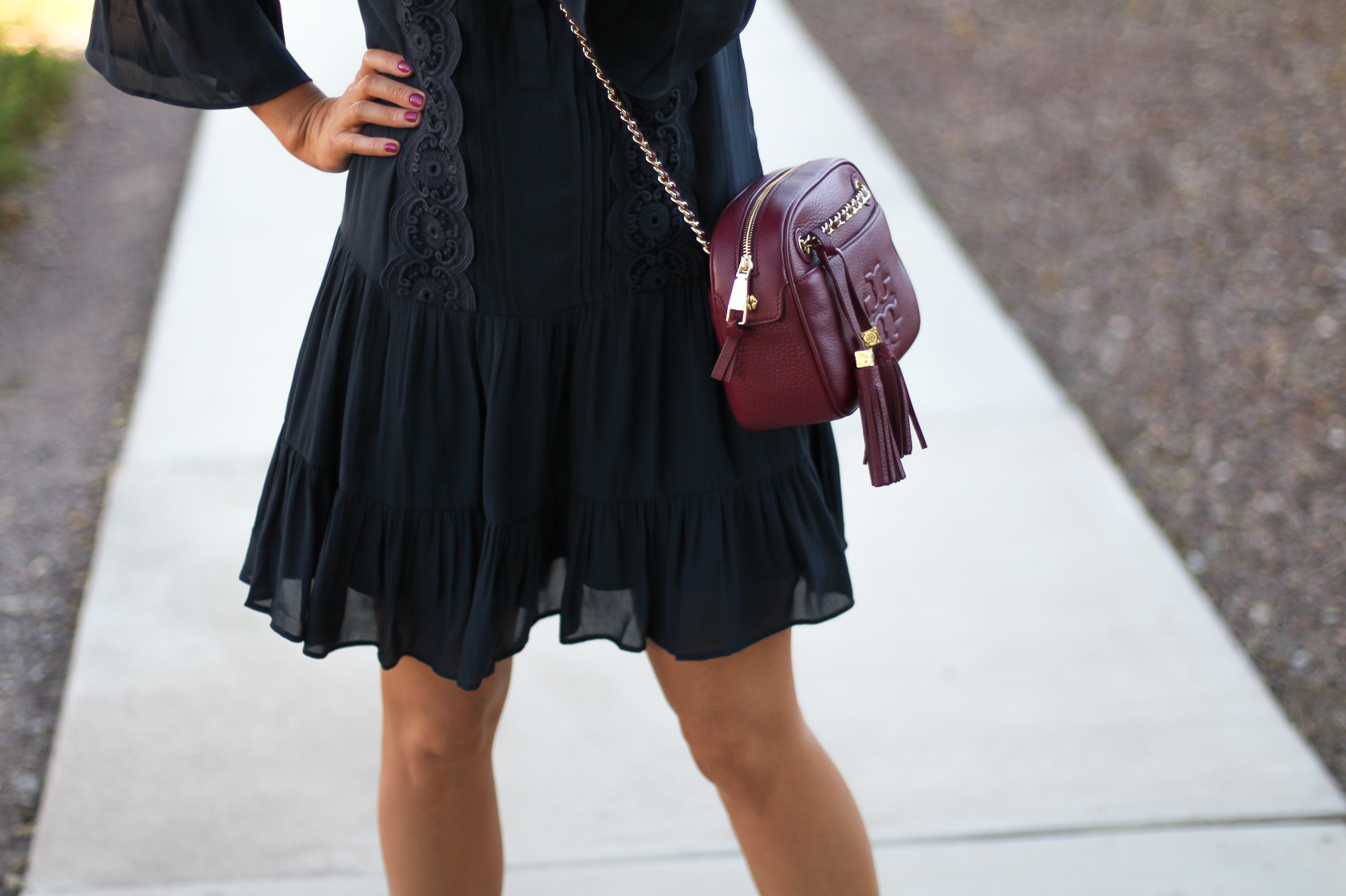Navy Pleats Fall Favorites