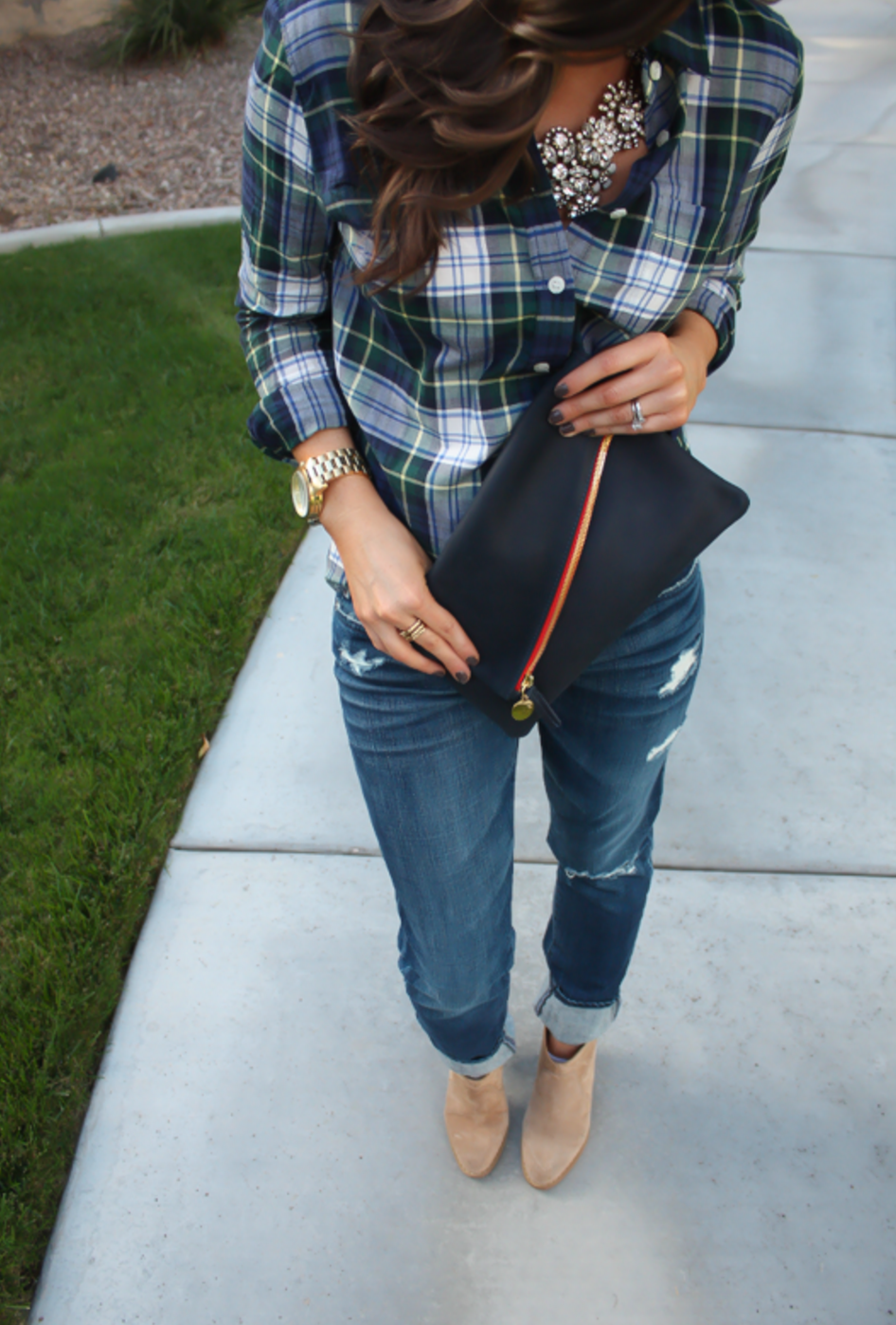 The Perfect Plaid Shirt